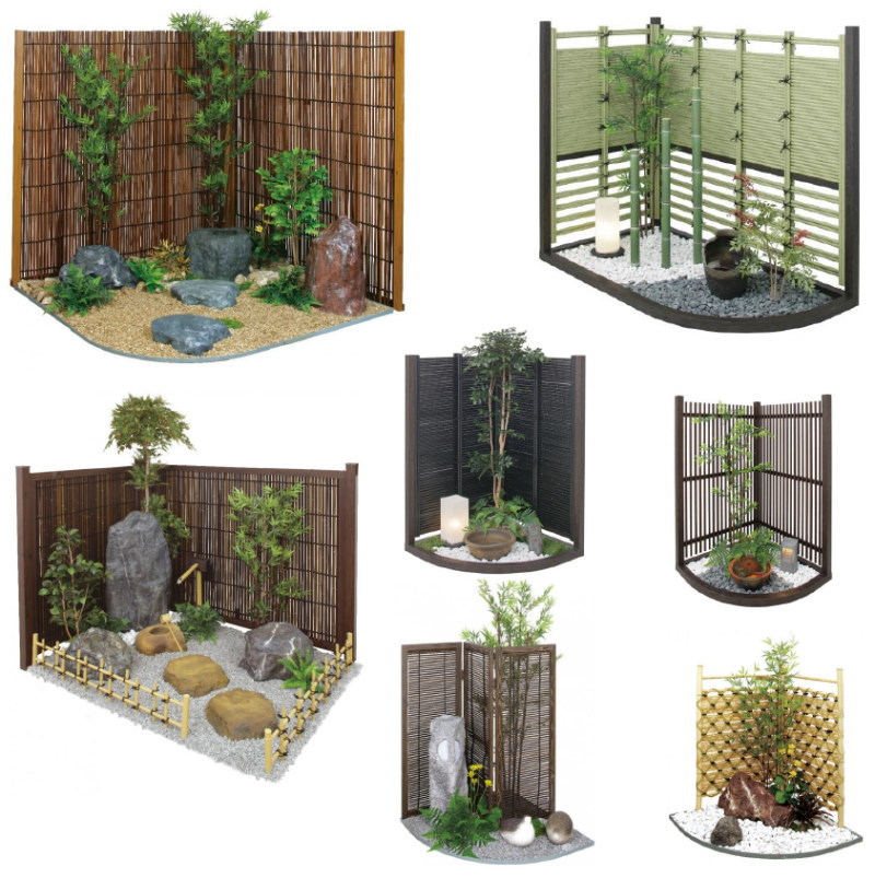 Artificial Inner Garden Set (Tsuboniwa)