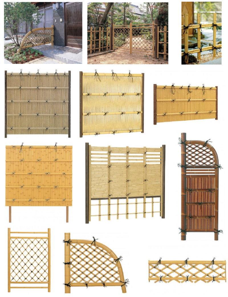 Bamboo Fence (Takegaki)